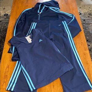 Adidas 3pc workout set size large